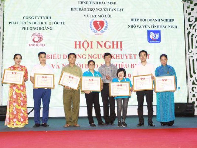 Tỉnh Hội Bắc Ninh tổ chức biểu dương người khuyết tật, người bảo trợ tiêu biểu lần thứ III năm 2019.