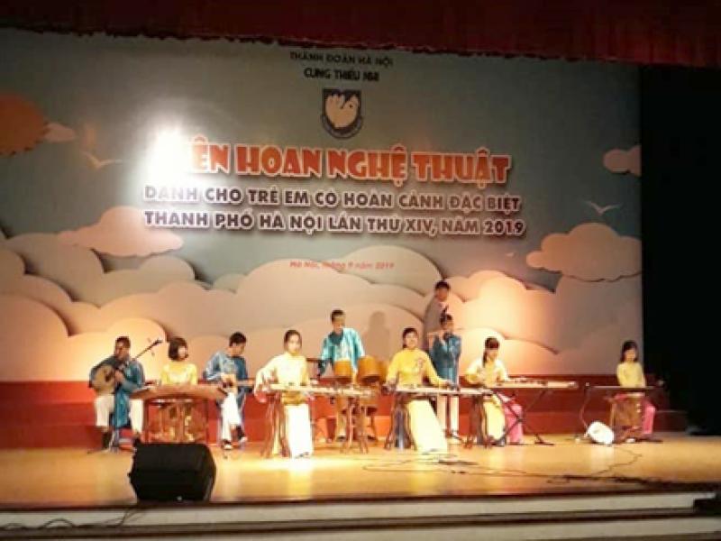 Liên hoan nghệ thuật dành cho trẻ em có hoàn cảnh đặc biệt thành phố Hà Nội lần thứ XIV - 2019