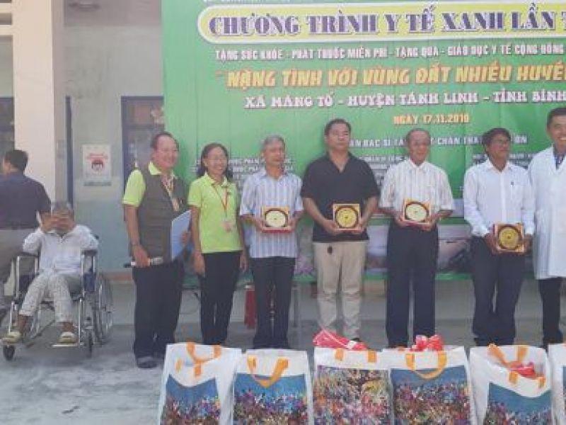 Tỉnh Hội Bình Thuận: Khám bệnh cấp phát thuốc cho 600 người mù nghèo