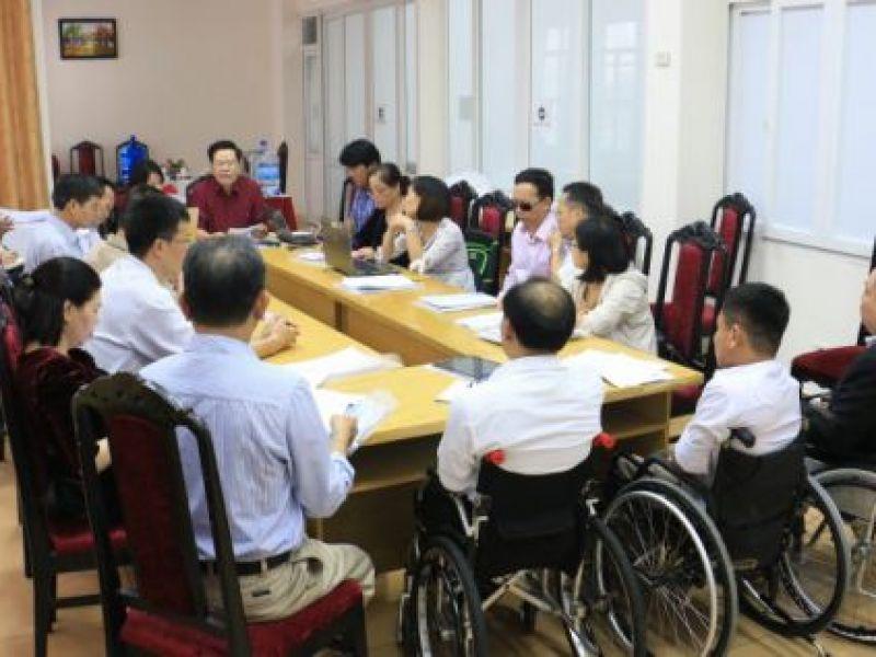 Sự tham gia của người khuyết tật trong xây dựng chính sách về người khuyết tật