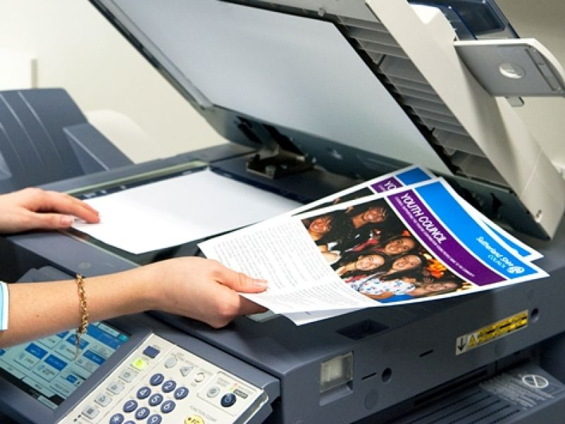 Đào tạo nghề photocopy cho người khuyết tật tại quận Hoàng Mai