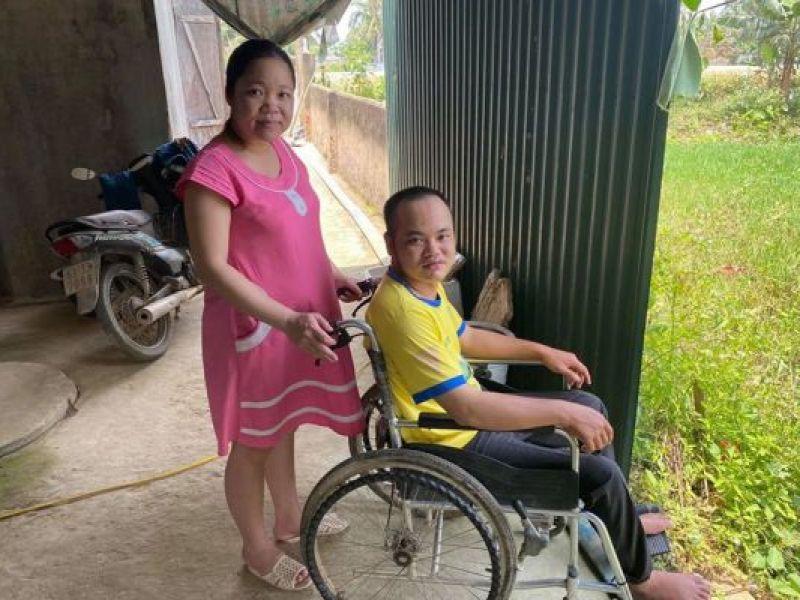 Kỳ tích giúp người đàn ông khuyết tật