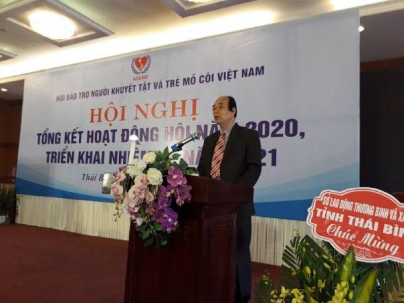 Hội bảo trợ người khuyết tật và trẻ mồ côi Việt Nam:  584 tỷ đồng vận động quỹ, 4,2 triệu người khuyết tật, trẻ mồ côi được hỗ trợ trong năm 2020