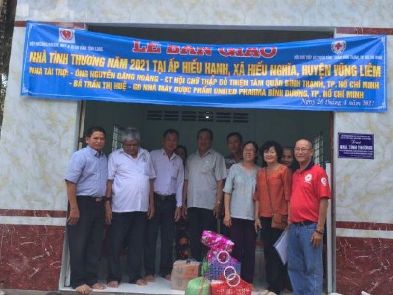 Tỉnh Hội Vĩnh Long bàn giao nhà tình thương cho người khuyết tật