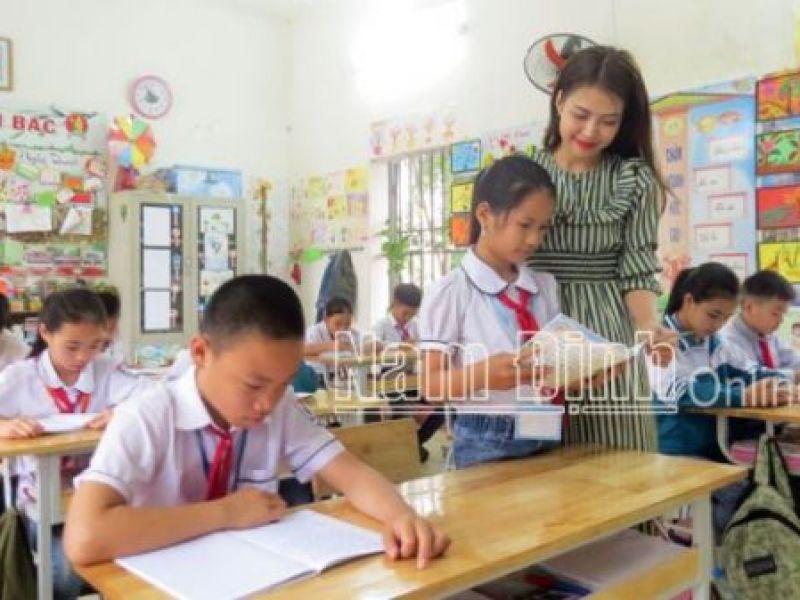 Nam Định: Quan tâm giáo dục hòa nhập cho học sinh khuyết tật