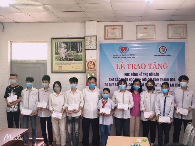 Hội Bảo trợ người khuyết tật và trẻ mồ côi tỉnh Thanh Hóa: Đỡ đầu 15 trẻ mồ côi có hoàn cảnh khó khăn