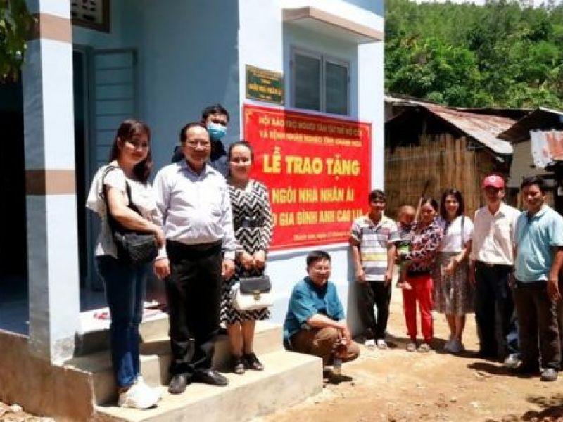 Hội Bảo trợ người khuyết tật, trẻ mồ côi và bệnh nhân nghèo tỉnh Khánh Hòa: Bàn giao nhà nhân ái cho gia đình khó khăn về nhà ở