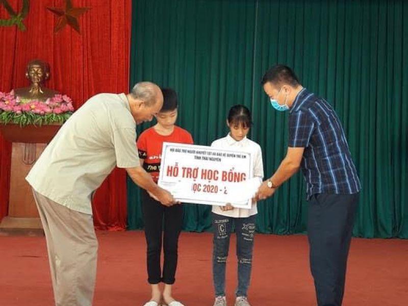 Tỉnh Hội Thái Nguyên:Trao 11 suất học bổng cho học sinh mồ côi, hoàn cảnh đặc biệt khó khăn