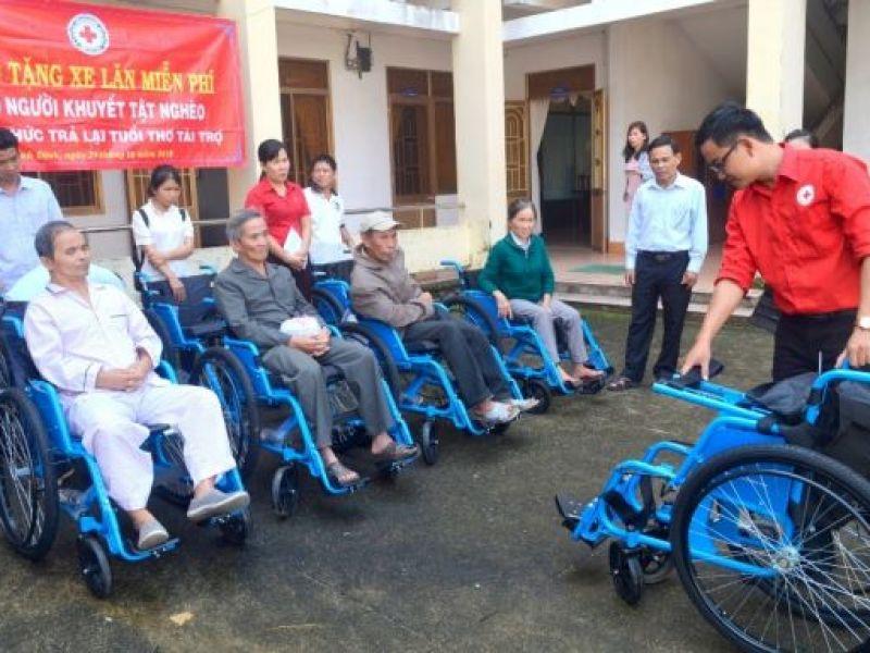 Bình Định: Gần 45.000 người khuyết tật được thăm khám và chăm sóc sức khỏe tại cộng đồng