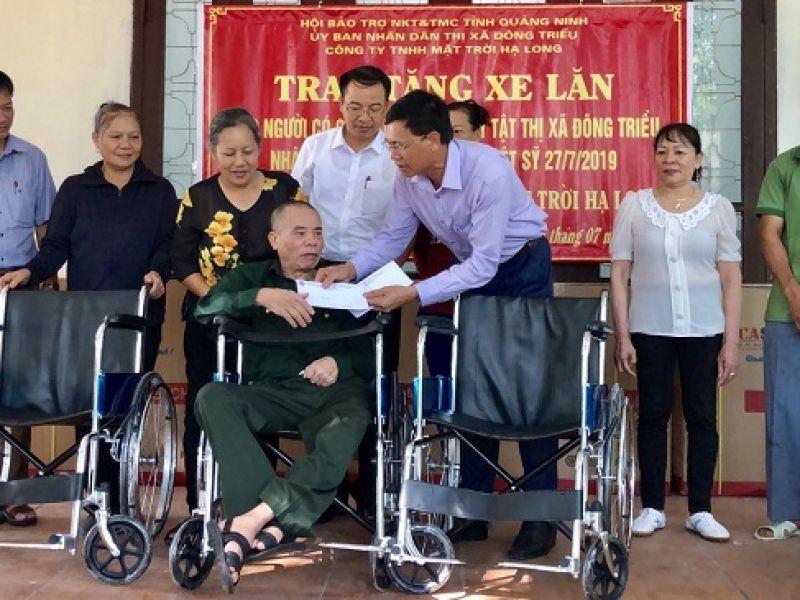 Quảng Ninh, nhiều hoạt động chăm lo cho người khuyết tật