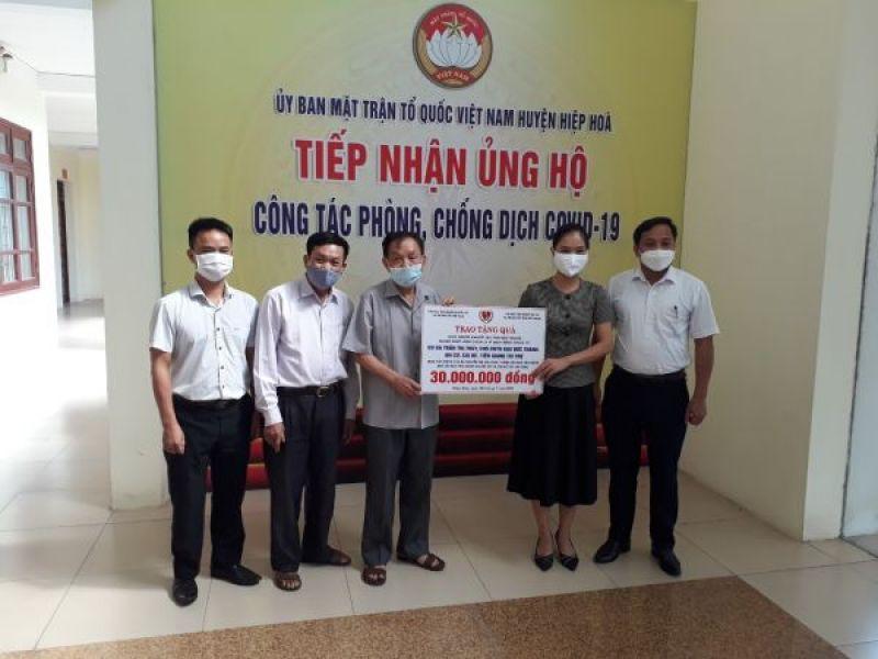 Trung ương Hội: Hỗ trợ người khuyết tật Bắc Giang vượt qua đại dịch