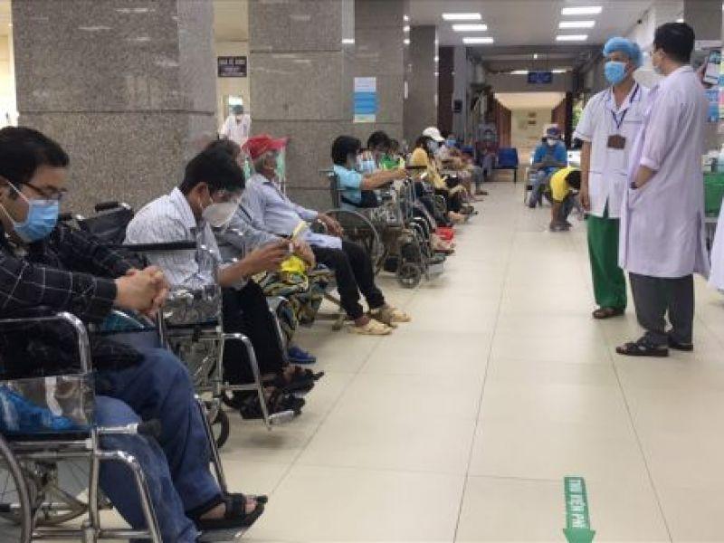 Cần Thơ tiêm vaccine phòng COVID-19 cho người khuyết tật
