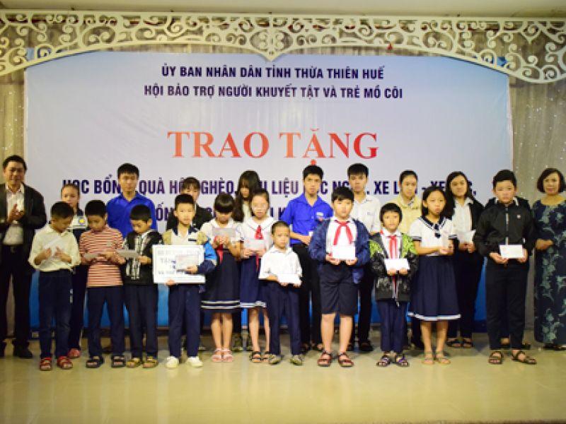 Hội Bảo trợ Người khuyết tật và Trẻ mồ côi tỉnh Thừa Thiên Huế hợp nhất và đổi tên