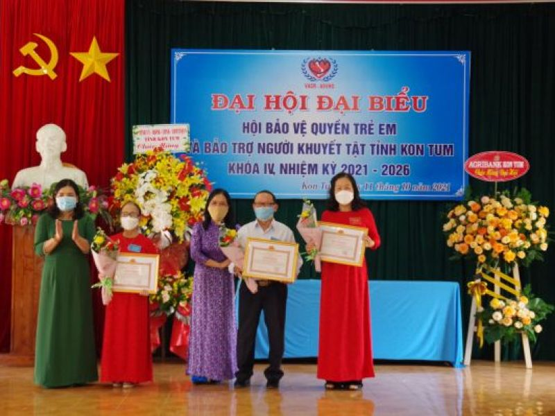 Đại hội đại biểu Hội Bảo vệ quyền trẻ em và Bảo trợ người khuyết tật tỉnh Kon Tum lần thứ IV