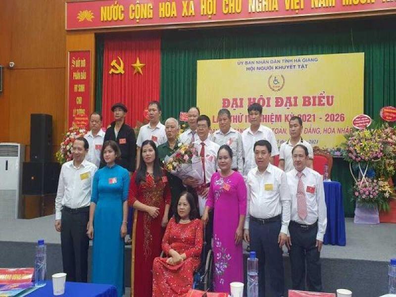 Đại hội đại biểu Hội người khuyết tật tỉnh Hà Giang lần thứ IV, nhiệm kỳ 2021 – 2026 thành công tốt đẹp