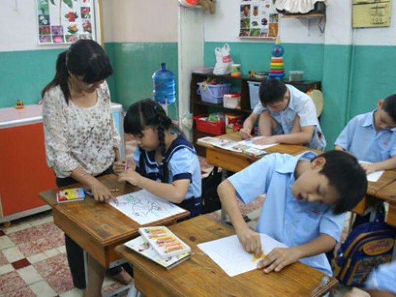 Mỗi lớp học hòa nhập có không quá 2 học sinh khuyết tật