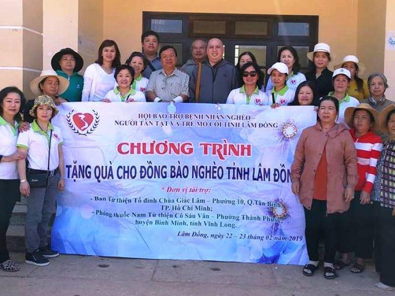 Tỉnh Hội Lâm Đồng: 640 triệu đồng trao tặng đồng bào và học sinh nghèo