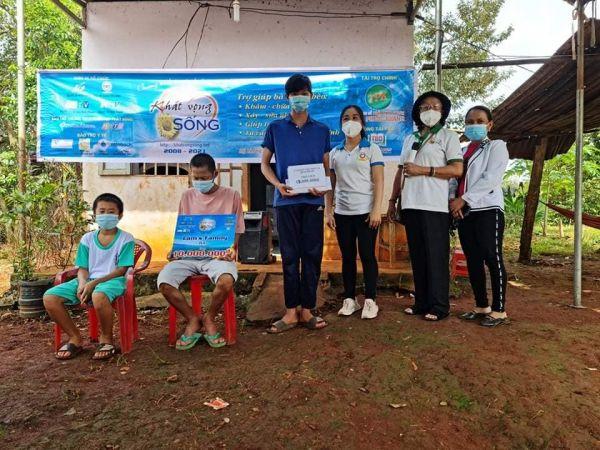 Hội Bảo trợ người khuyết tật, trẻ mồ côi và bệnh nhân nghèo tỉnh Bình Phước: Đoàn kết, chung sức đồng lòng phòng chống và chiến thắng đại dịch covid-19