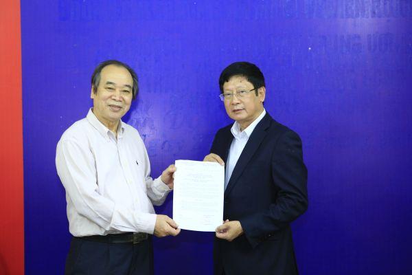 Ông Đỗ Mạnh Hùng được bổ nhiệm làm Phó Chủ tịch Hội Bảo trợ người khuyết tật và trẻ mồ côi Việt Nam